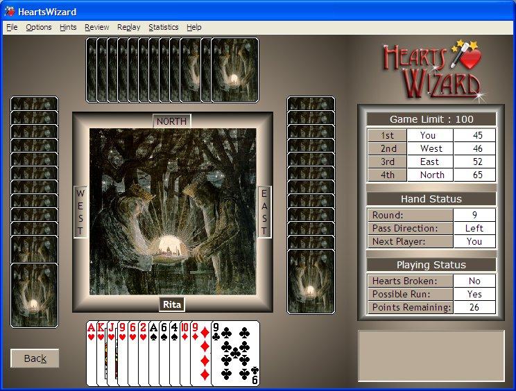 Click to view HeartsWizard 2.5.7 screenshot